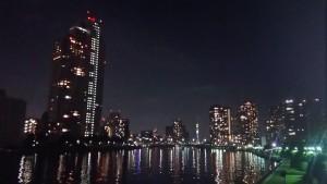 中央区の夜景
